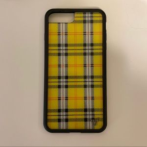 Wildflower Yellow Plaid IPhone 6/7/8 Plus Case